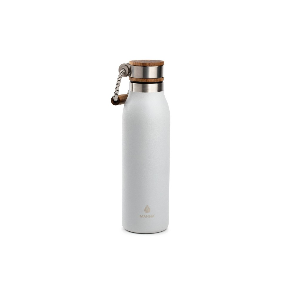 Image of Manna 18oz Stainless Steel Ascend Hydration Bottle Silver