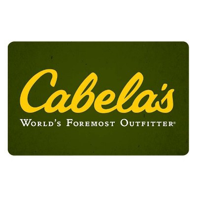 Cabela's Gift Card $25 (Email Delivery)