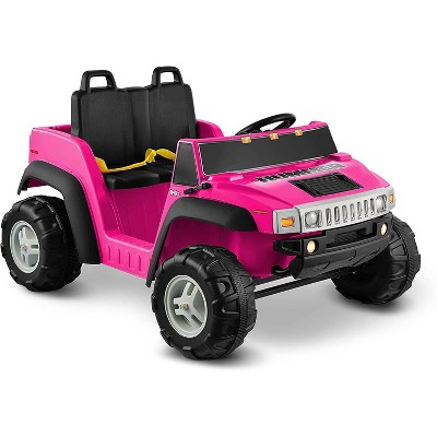 Kid Motorz 12V Hummer Two Seater Powered Ride-On - Pink