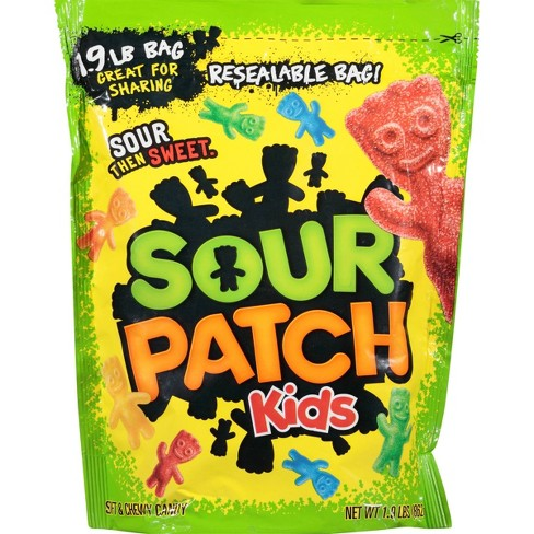 Sour Patch Kids Assorted Soft & Chewy Candy Bulk Pack - 30.4oz - image 1 of 4