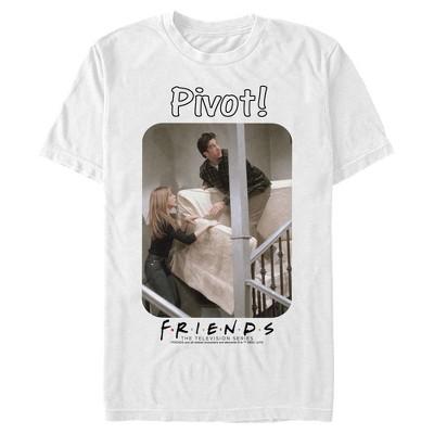 Men's Friends Ross and Rachel Pivot! T-Shirt