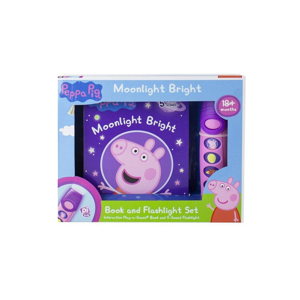 Peppa Pig Moonlight Bright Play A Sound Mixed Media Product