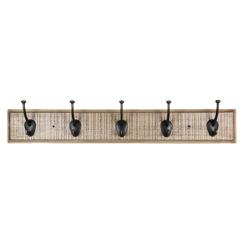 Hook Rustic Wall Coat Rack