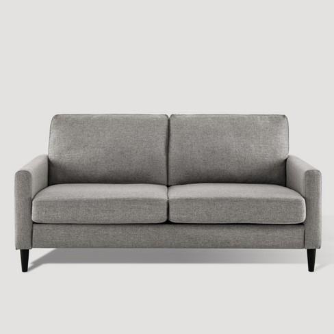 Verona Mid Century Sofa Gray Dorel Living