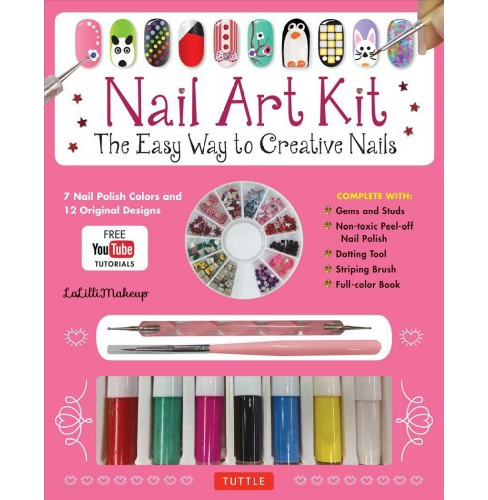 Nail Art Kit : The Easy Way to Creative Nails (Paperback) - image 1 of 1