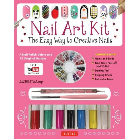 Nail Art Kit The Easy Way To Creative Nails Paperback Target