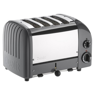 Dualit Cobble Gray New Generation Classic Toaster - 4 slice