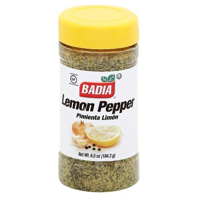 Badia Gluten Free Lemon Pepper Seasoning - 6.5oz