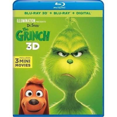 Dr. Seuss' The Grinch (Blu-ray)(2019)