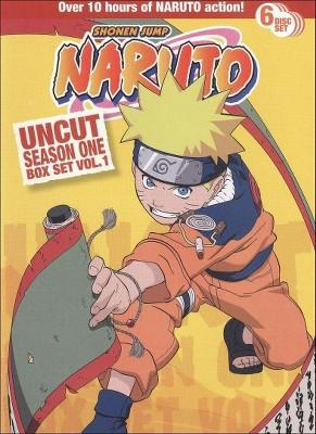 Naruto Uncut Box Set: Season One, Vol. 1 (DVD)