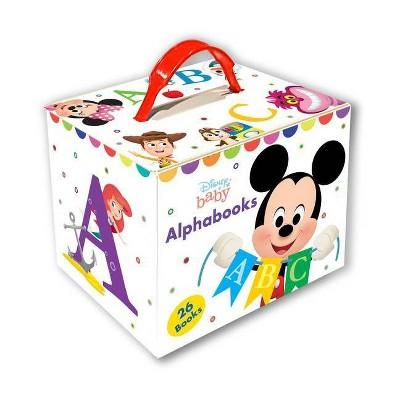 Disney Baby Alphabooks - by Disney Books (Board Book)