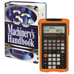 Machinery's Handbook, Toolbox & Calc Pro 2 Combo - 30 Edition by  Erik Oberg (Mixed media product)