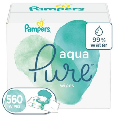 Pampers Aqua Pure 10X - 560ct