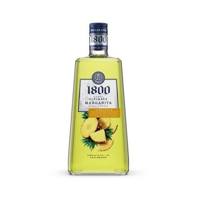 1800 Ultimate Pineapple Margarita Cocktail - 1.75L Bottle