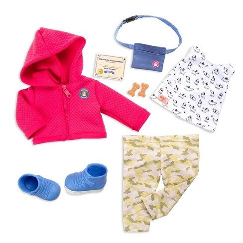 "Our Generation Deluxe Dog Trainer Outfit for 18"" Dolls - Tender Trainer - image 1 of 3"