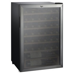 Whirlpool 40 Bottle 4.5 Cu. Ft Wine Refrigerator - Stainless Steel JC-133EZ