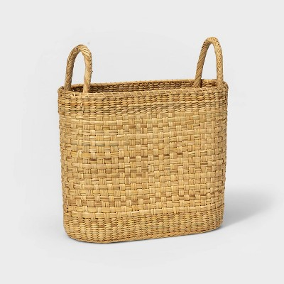 Oval Basket with handles Natural - Threshold™