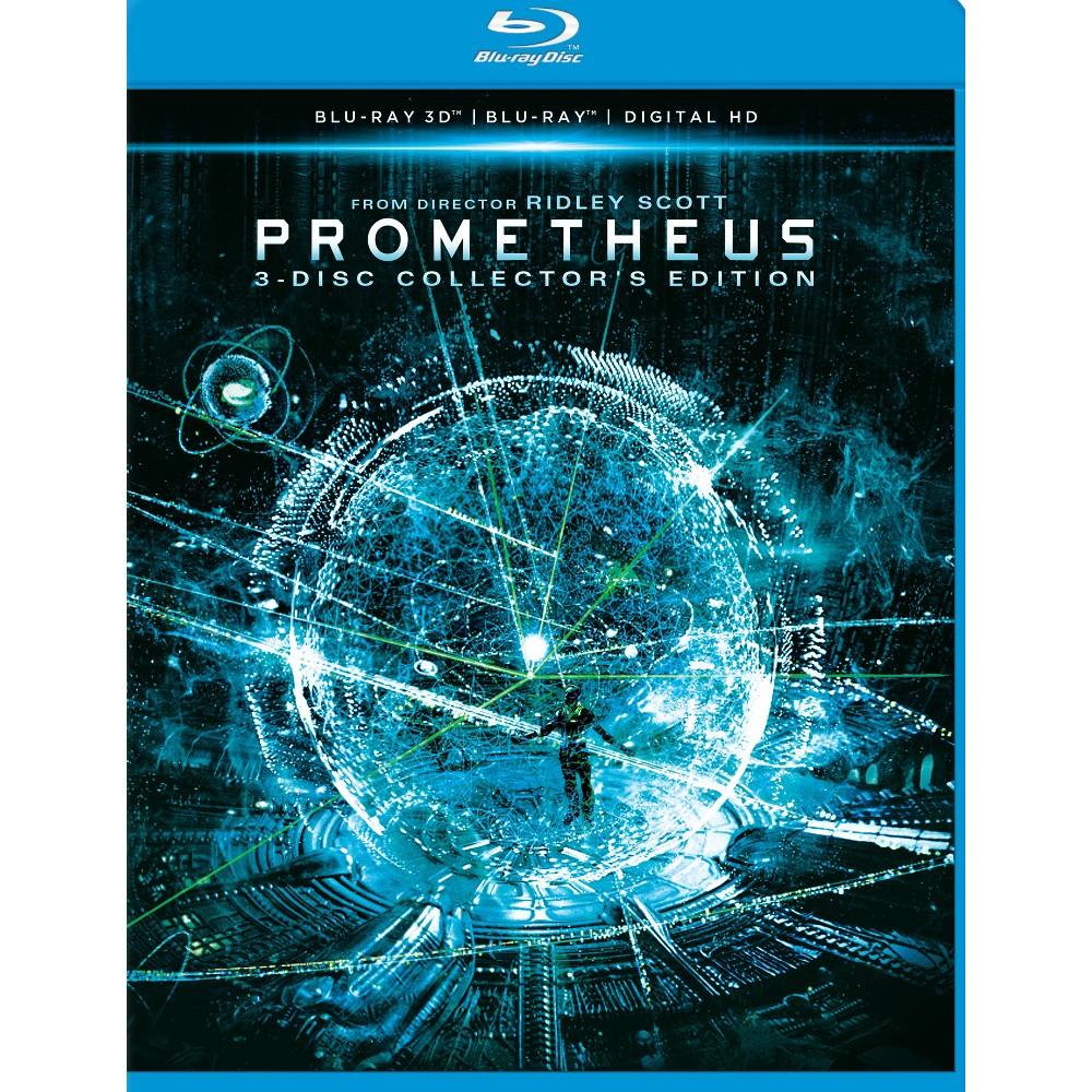 Prometheus 3d (Blu-ray), Movies
