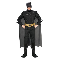 Men's Batman The Dark Knight Rises Muscle Chest Deluxe Costume