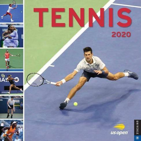 Tennis Calendar 2020 Tennis 2020 Wall Calendar   By United States Tennis Association