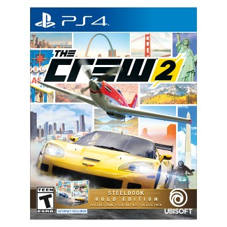 The Crew 2 Steelbook GOLD Edition - PlayStation 4