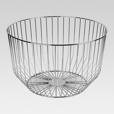 Round Wire Basket Large - Silver - Project 62™