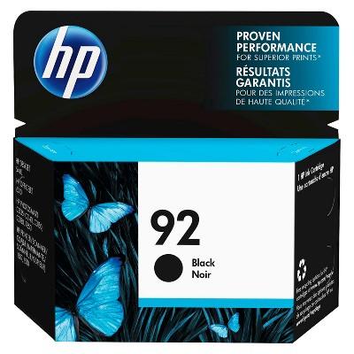 HP 92 Single Ink Cartridge - Black (C9362WN#14)