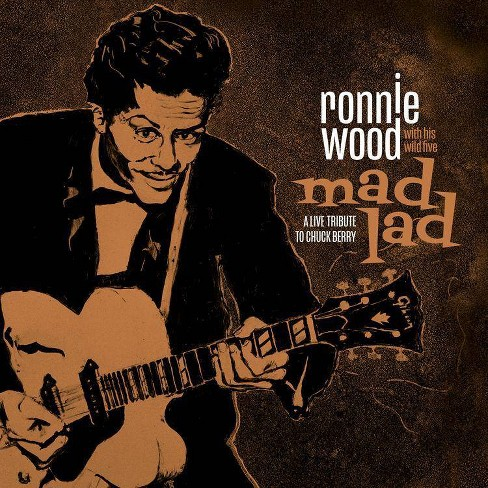 Ronnie wood with his - Mad lad: a live tribute to chuck berry   cd (CD) - image 1 of 1