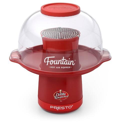 Presto Orville Redenbacher's Fountain Hot Air Popper, Red- 04868 - image 1 of 4
