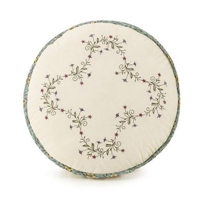 Embroidered Decoritive Throw Pillow Olivia - Modern Heirloom