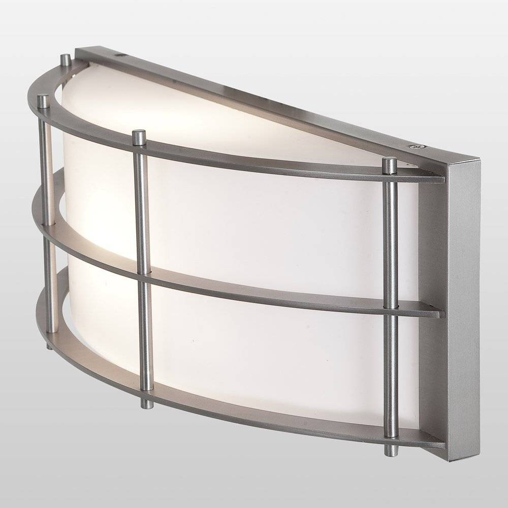 Tyro Wet Location Outdoor Wall Fixture - Opal Glass Shade Satin Finish - Access Lighting