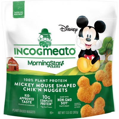 Incogmeato Chik'n Mickey Mouse Nuggets - Frozen - 13.5oz