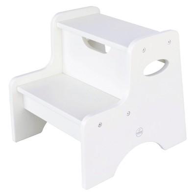 KidKraft Two-Step Stool - White