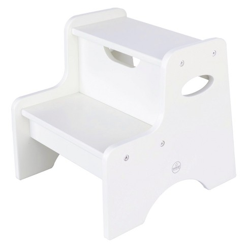 Fine Kidkraft Two Step Stool White Alphanode Cool Chair Designs And Ideas Alphanodeonline