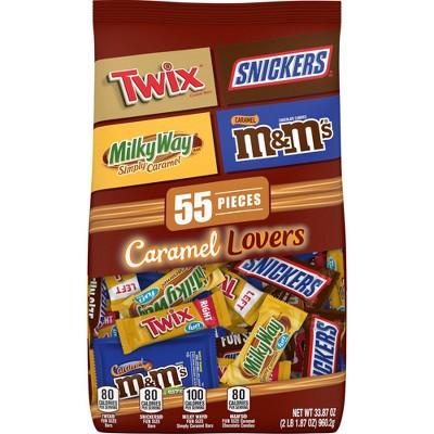 Mars Chocolate Caramel Lovers Variety Pack - 33.87oz