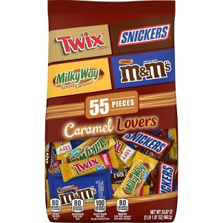 Mars Chocolate Caramel Lovers Variety Pack - 37.7oz