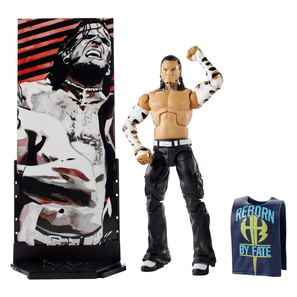 Wwe Elite Collection Jeff Hardy Action Figure - Series #55
