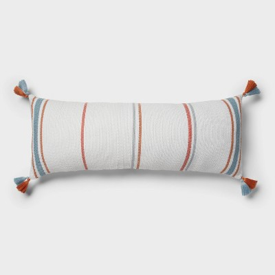 Oversized Oblong Stripe Throw Pillow Multi Color - Threshold™
