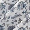 Emiko Vintage Scroll Floral Semi-Sheer Grommet Curtain Panel Purple - No.918 - image 3 of 4
