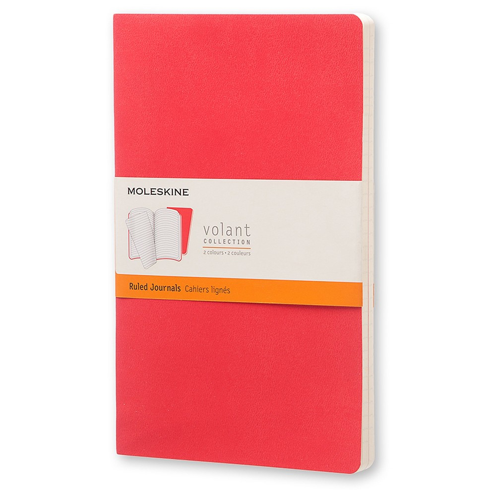 Moleskine Volant Journal, College Ruled, 96 sheets, 5