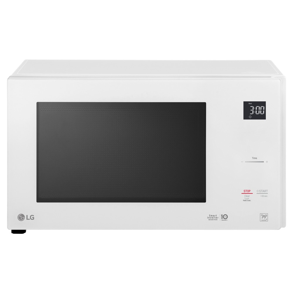 LG 1.5 cu ft Smart Inverter Countertop Microwave - White LG 1.5 cu ft Smart Inverter Countertop Microwave - White