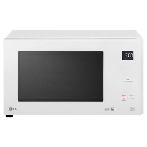 LG 1.5 cu ft Smart Inverter Countertop Microwave - White - image 1 of 10