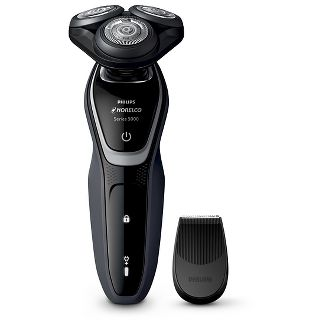 Philips Norelco Series 5100 Wet & Dry Mens Rechargeable Electric Shaver - S5210/81