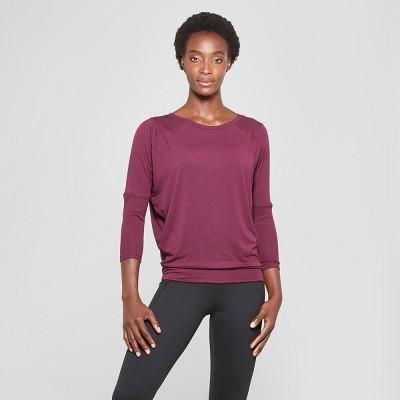 Women's Loose Active T-Shirt - C9 Champion® Dark Berry Purple M