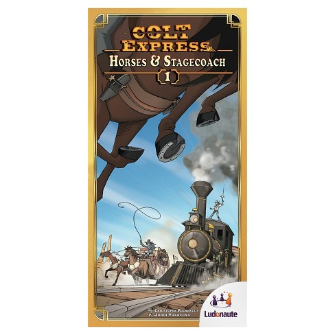 Colt Express Horses and Stagecoach Board Games - image 1 of 1
