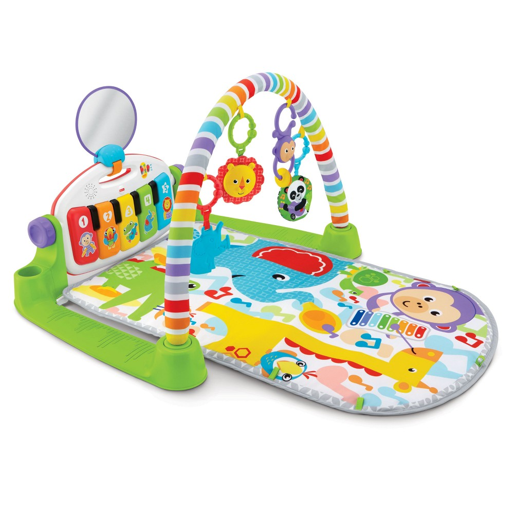 Image of Fisher-Price Deluxe Kick & Play Piano Gym