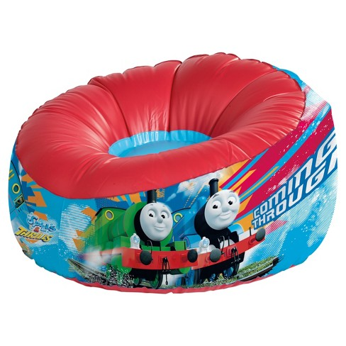 Marshmallow Furniture Inflatable Round Chair - Thomas & Friends (Blue/ Red) - image 1 of 5