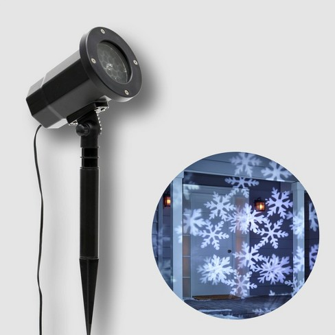 Philips Christmas LED Motion Projector Snowflake Patterns Cool White - image 1 of 4
