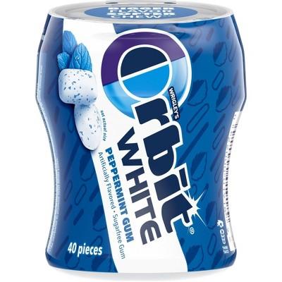 Orbit White Peppermint Gum - 40ct