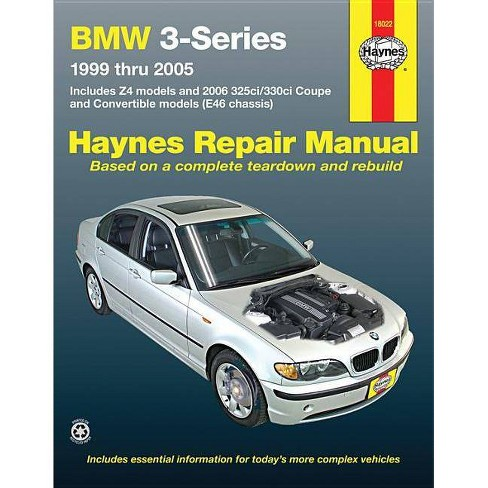 BMW 3-Series - (Haynes Repair Manual (Paperback)) 2 Edition by  Editors of Haynes (Paperback) - image 1 of 1
